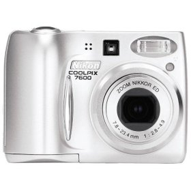 List of Nikon Coolpix 7600 user manuals, operating instructions and