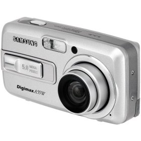List of Samsung Digimax A55W user manuals, operating