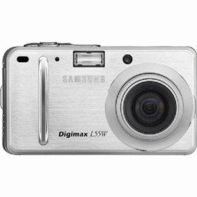 List of Samsung Digimax L55W user manuals, operating