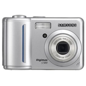 List of Samsung Digimax S500 user manuals, operating